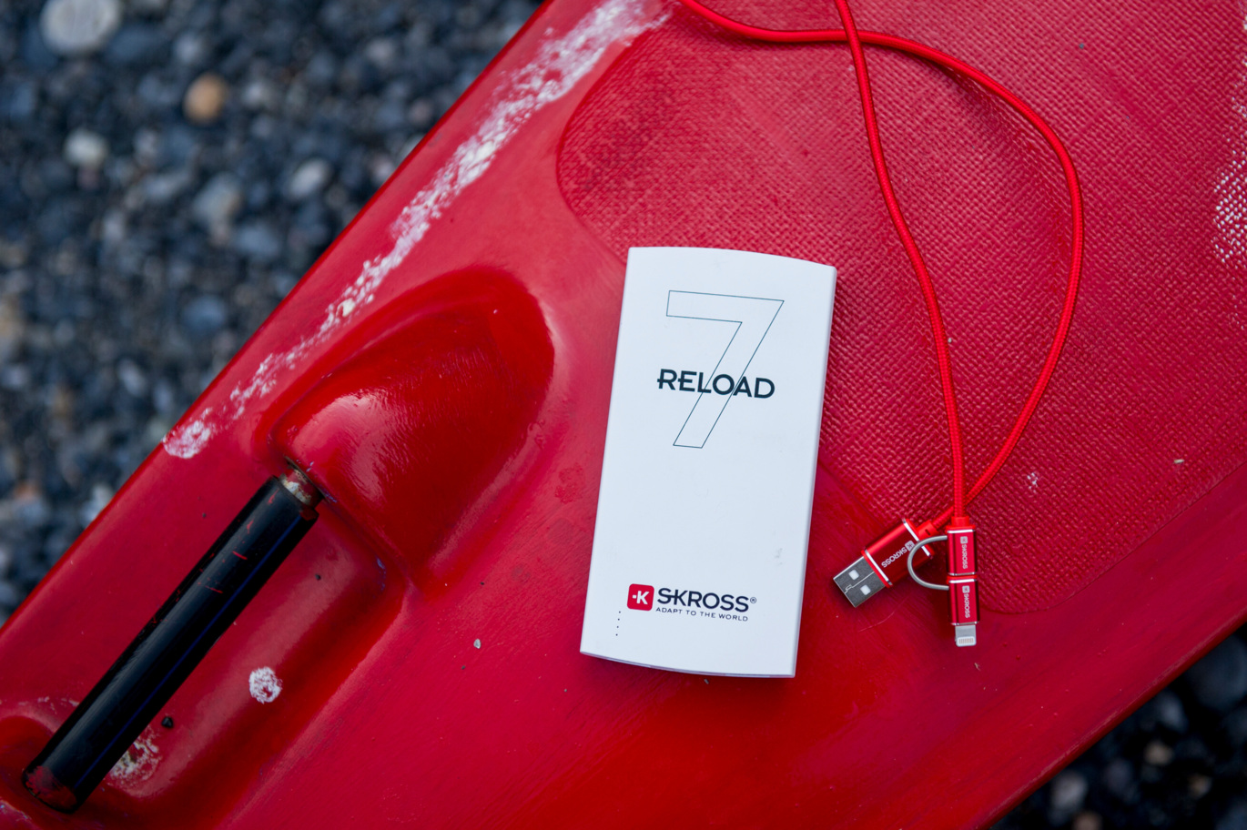 RELOAD 7, 2in1 Charge'n Sync - Special Edition, red