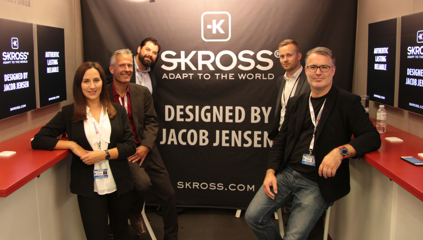 worldconnect; skross team at TFWA in Cannes; jacob jensen design