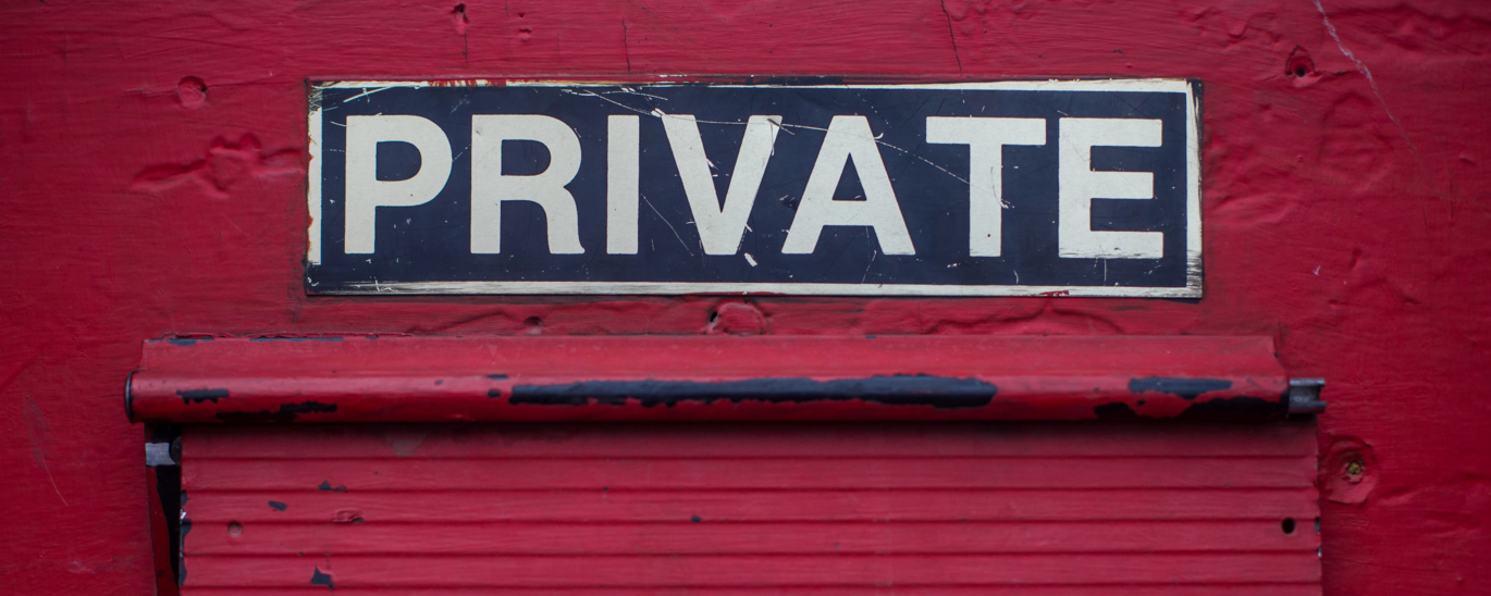 Terms of use; private