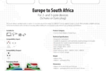 Europe to South Africa_E