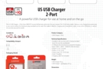 US USB Charger - 2-Port_E