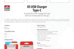 US USB Charger - Type-C_E
