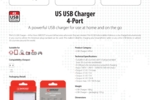 US USB Charger - 4-Port_E