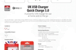 UK USB Charger - Quick Charge_E