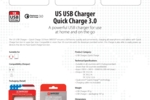 US USB Charger - Quick Charge_E