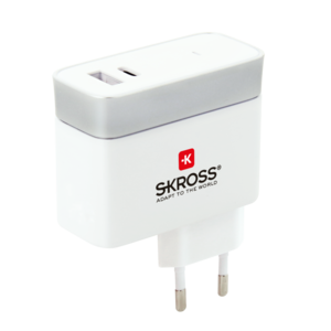 Euro USB Charger - Type-C