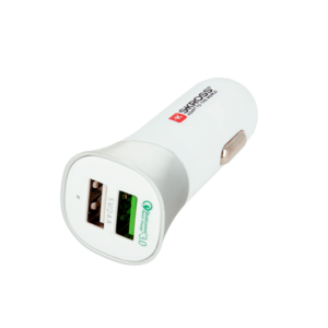 Dual USB Car Charger - Quick Charge