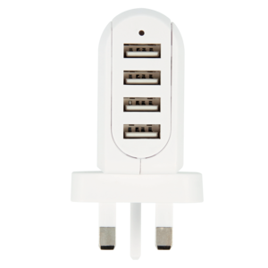 UK USB Charger - 4-Port