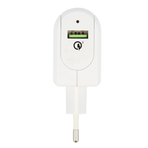 Euro USB Charger - Quick Charge