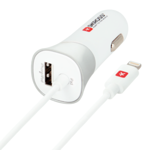 USB Car Charger & Lightning Connector