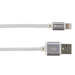 Charge'n Sync Lightning Connector cable - Steel Line, Silver