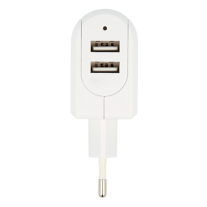 Euro USB Charger - 2-Port