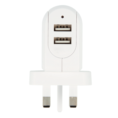UK USB Charger - 2-Port
