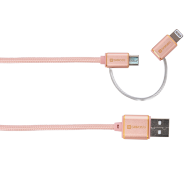 2in1 Charge'n Sync - Steel Line Special Edition, Rose Gold